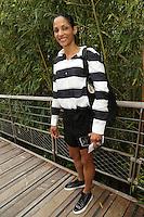 Christine Arron seen at 'Le Village de Roland Garros during Roland Garros tennis open 2016 on may 28 2016.