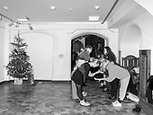 Szczecin 10.01.2020 Poland<br /> Students from the art school learn Polonez, national Polish dance<br /> Photo: Adam Lach