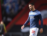 17th October 2020; Vitality Stadium, Bournemouth, Dorset, England; English Football League Championship Football, Bournemouth Athletic versus Queens Park Rangers; Geoff Cameron of Queens Park Rangers warms up