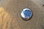 Bowl In Sand On Caronga Beach