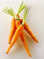 Fresh baby carrots