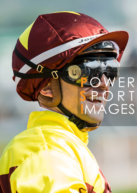 Jockey Umberto Rispoli riding Southern Legend wins in the Race 3, Flying Dancer Handicap, during the Longines Hong Kong International Races at Sha Tin Racecourse on December 10 2017, in Hong Kong, Hong Kong. Photo by Victor Fraile / Power Sport Images