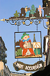 Exterior, Accordian Shop, Paris, France, Europe