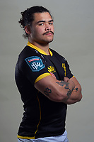 Du'Plessis Kirifi. 2021 Wellington Lions official rugby headshots at Rugby League Park in Wellington, New Zealand on Monday, 26 July 2021. Photo: Dave Lintott / lintottphoto.co.nz