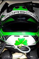 #23 Ruby Tuesday Porsche/Crawford: Helmet of Patrick Long