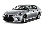 2017 Lexus GS Executive-Line 4 Door Sedan Angular Front stock photos of front three quarter view