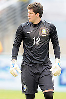Brazil goalkeeper Rafael Cabral (12) The Argentina National Team defeated Brazil 4-3 at MetLife Stadium, Saturday July 9 , 2012.