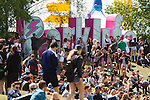 © Joel Goodman - 07973 332324 . 07/06/2015 . Manchester , UK . Crowd at The Parklife 2015 music festival in Heaton Park , Manchester . Photo credit : Joel Goodman