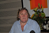 Montreal (Qc) CANADA - Sept  6 2010 - French actor Gerard Depardieu in montreal for a Master Classe