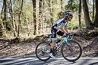Esteban Chaves (COL/BikeExchange) up the last climb of the day: the Côte de la Roche-aux-Faucons<br /> <br /> 107th Liège-Bastogne-Liège 2021 (1.UWT)<br /> 1 day race from Liège to Liège (259km)<br /> <br /> ©kramon