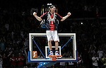 Caja Laboral Baskonia's Walter Herrmann celebrates the victory in the ACB Finals. June 15,2010. (ALTERPHOTOS/Acero)