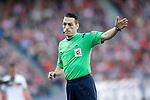 Spanish referee Eduardo Prieto Iglesias during La Liga match. April 17,2016. (ALTERPHOTOS/Acero)