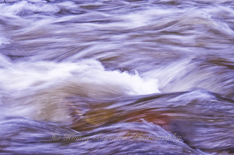 """""""BIG CREEK-3""""<br /> <br /> Waters of Big Creek Montana splashing over the river boulders. 24 x 36 signed, original, gallery wrapped wrapped canvas $2,500. Check for availability"""
