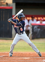 Lake Brantley Patriots infielder Jay Charleston (06) during a game against the Lake Mary Rams on April 2, 2015 at Allen Tuttle Field in Lake Mary, Florida.  Lake Brantley defeated Lake Mary 10-5.  (Mike Janes/Four Seam Images)