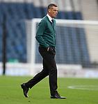 22.05.2021 Scottish Cup Final, St Johnstone v Hibs: Hibs dejection, Jack Ross