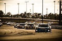 22-25 January, 2009, Daytona Beach, Florida USA.CGR's Juan Pablo Montoya leads into the final hour..©F.Peirce Williams 2009.F.Peirce Williams.photography
