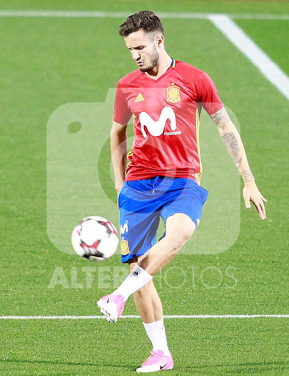 Spain's Saul Niguez during training session. October 2,2017.(ALTERPHOTOS/Acero)