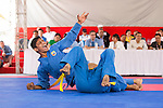 India athletes compete during the Vovinam Men's competition on Day Nine of the 5th Asian Beach Games 2016 at Bien Dong Park on 02 October 2016, in Danang, Vietnam. Photo by Marcio Machado / Power Sport Images