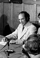 La Visite de Pierre-Elliot Trudeau et Jean Marchand, a Quebec ,<br />  30 septembre 1972<br /> <br /> Photographe : Photo Moderne<br /> - agence Quebec Presse