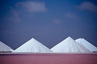 Salt production Akzo Nobel, Netherland Antilles, Bonaire, Caribbean Sea, Atlantic