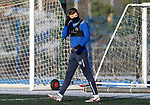 St Johnstone Training…. 29.12.20<br />Callum Hendry who was sent off during the Boxing Day game at Aberdeen pictured during training at McDiarmid Park this morning.<br />Picture by Graeme Hart.<br />Copyright Perthshire Picture Agency<br />Tel: 01738 623350  Mobile: 07990 594431
