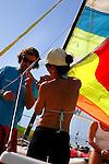Deportes Nauticos. Vela Ligera, Catamaran.