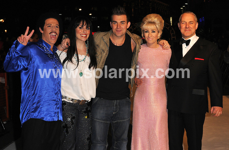 """**ALL ROUND PICTURES FROM SOLARPIX.COM**.**WORLDWIDE SYNDICATION RIGHTS**.The film premiere of 'The Accidental Husband' in London. 13th February 2008..This pic: Cast of """"The One and Only""""..JOB REF: 5778 ATM     DATE: 13_02_2008.**MUST CREDIT SOLARPIX.COM OR DOUBLE FEE WILL BE CHARGED* *UNDER NO CIRCUMSTANCES IS THIS IMAGE TO BE REPRODUCED FOR ANY ONLINE EDITION WITHOUT PRIOR PERMISSION*"""