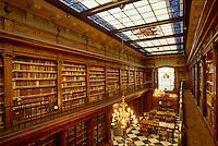 Bibliothek Menénez Pelayo, Santander, Kantabrien, Spanien