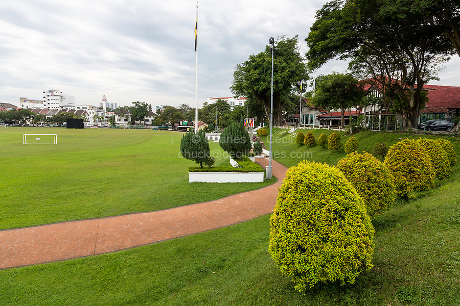 City Square (Padang Ipoh), with Royal Ipoh Club on Right, Ipoh, Malaysia.