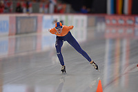 SPEEDSKATING: INZELL: Max Aicher Arena, 09-02-2019, ISU World Single Distances Speed Skating Championships, 5000m Ladies, Carien Kleibeuker (NED), ©photo Martin de Jong