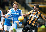 East Fife v St Johnstone…29.07.17… Bayview… Pre-Season Friendly<br />Liam Craig battles with a trialist for East Fife<br />Picture by Graeme Hart.<br />Copyright Perthshire Picture Agency<br />Tel: 01738 623350  Mobile: 07990 594431
