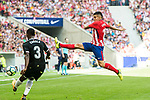 Angel Correa (r) of Atletico de Madrid in action during the La Liga 2017-18 match between Atletico de Madrid and Sevilla FC at the Wanda Metropolitano on 23 September 2017 in Madrid, Spain. Photo by Diego Gonzalez / Power Sport Images