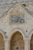 Asie/Israël/Galilée/Zichron Yaacov: la Fontaine Binyamin construite en 1891 par Edmond de Rotschild qui permit d'irriguer les cultures