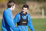 St Johnstone Training…18.11.16<br />Richie Foster and Blair Alston pictured during training this morning at McDiarmid Park ahead of tomorrow's game against Ross County<br />Picture by Graeme Hart.<br />Copyright Perthshire Picture Agency<br />Tel: 01738 623350  Mobile: 07990 594431