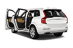 Car images close up view of a 2018 Volvo XC90 T8 Twin Engine Plug-in Inscription 5 Door SUV doors