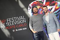 FESTIVAL TELEVISION DE MONTE CARLO - PHOTOCALL 'CHICAGO FIRE' AVEC TAYLOR KINNEY, JESSE SPENCER