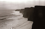 Cliffs of Moher - 1984. Photograph by Liam McGrath