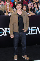 """WESTWOOD, LOS ANGELES, CA, USA - MARCH 18: Matt Lanter at the World Premiere Of Summit Entertainment's """"Divergent"""" held at the Regency Bruin Theatre on March 18, 2014 in Westwood, Los Angeles, California, United States. (Photo by Xavier Collin/Celebrity Monitor)"""