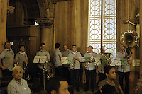 Kleintje Pils, typical Dutch band....Official Opening Ceremony of ST. Petrus and Paulus Cathedral (AKA World's largest wooden cathedral)