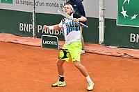 8th October 2020, Roland Garros, Paris, France; French Open tennis, Roland Garros 2020;  Marmousez - France