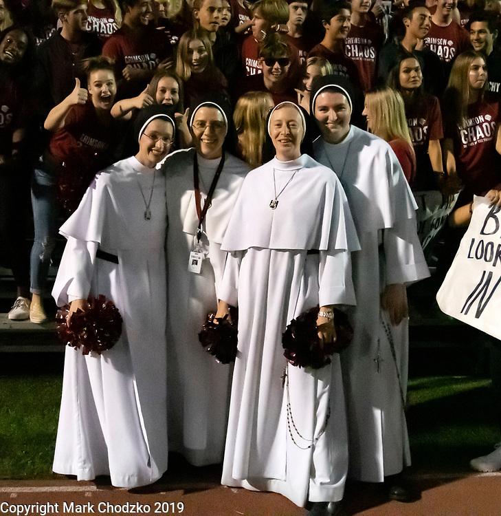 JSerra Catholic High School, nuns, sports, action, athletes, crowds