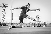 BRADENTON, FL - JANUARY 21: Walker Zimmerman  shoots the ball during a training session at IMG Academy on January 21, 2021 in Bradenton, Florida.