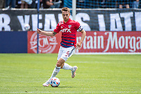 SAN JOSE, CA - APRIL 24: Bressan #4 of FC Dallas controls the ball during a game between FC Dallas and San Jose Earthquakes at PayPal Park on April 24, 2021 in San Jose, California.