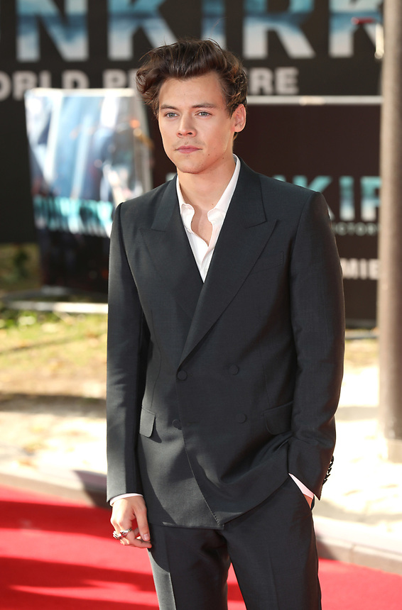 """Harry Styles<br /> at the """"Dunkirk"""" World Premiere at Odeon Leicester Square, London. <br /> <br /> <br /> ©Ash Knotek  D3289  13/07/2017"""