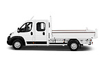 Car Driver side profile view of a 2019 Citroen Jumper - 4 Door Chassis Cab Side View