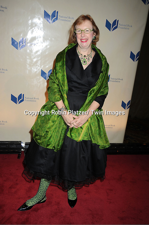 Julia Glass attends The 2011 National Book Awards Gala on November 16, 2011 at Cipriani Wall Street in New York City.