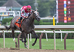 08182021: #8 Lemieux ridden by Tyler Gaffalione trained by M.E. Casse wins the 5th race Maiden fillies 2 yr old at Saratoga Race Course<br /> Robert Simmons/Eclipse Sportswire