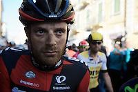 Danilo Wyss (SUI/BMC) post-finish<br /> <br /> 107th Milano-Sanremo 2016