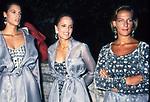 SAMANTHA GRANGER  CON SHARI BELLAFONTE E MAFALDA D'AOSTA<br /> SFILATA ROMA ALTA MODA A TRINITA' DEI MONTI ROMA 1994
