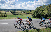 the breakaway group<br /> <br /> Stage 12 from Chauvigny to Sarran (218km)<br /> <br /> 107th Tour de France 2020 (2.UWT)<br /> (the 'postponed edition' held in september)<br /> <br /> ©kramon